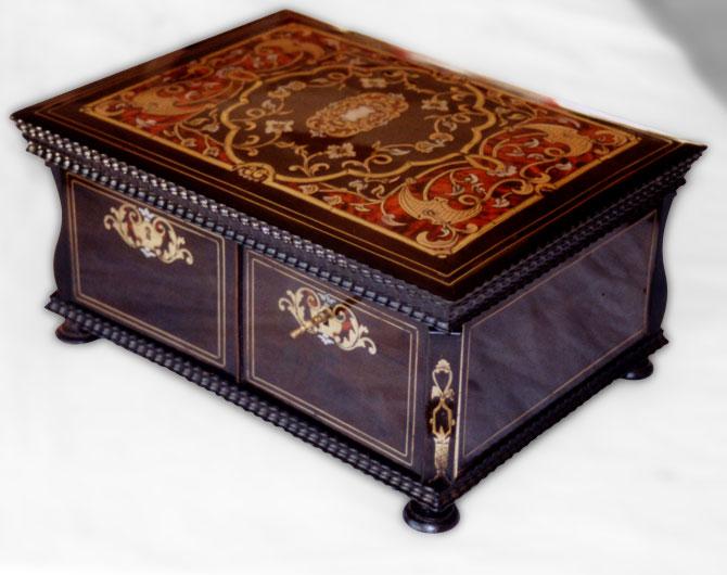 Boîte à couture Napoléon III